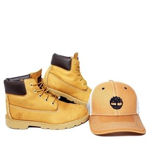 Timberland Boots/Hat Men's 5.5